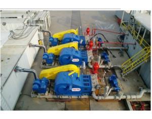 mud pump package(F1600+AC Motor),Use For ZJ70DBS Rig