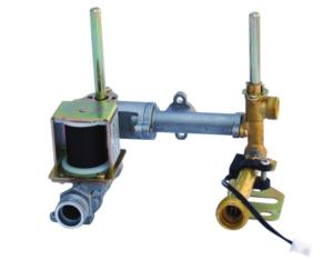 gas water heater valve