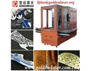 Laser Leather Boots Punching Machine/Hollowing Equipment