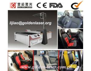 Auto Recognition Laser Cutting Leather Seat Machine