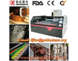 Crafts Leather Pattern Laser Engraving Machine With CE