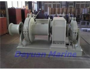 48KN  Hydraulic anchor windlass and mooring winch