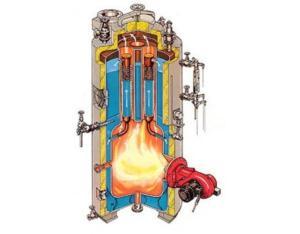 small type marine vertical oil fired boiler