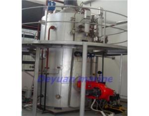 horizontal type heat- recovery boiler