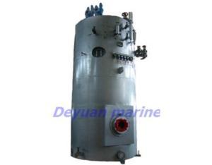 marine vertical hot oil boiler
