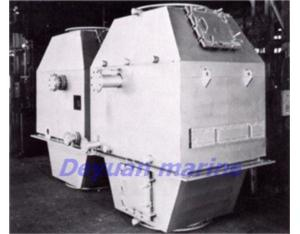 exhaust-gas economizer for marine boiler