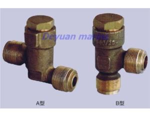 marine male thread bronze check valve