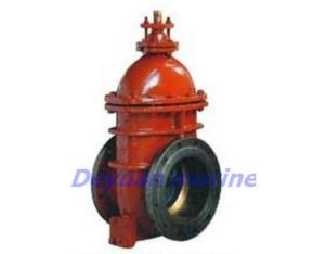 DIN marine gate valve