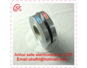 metalized film for capacitor used