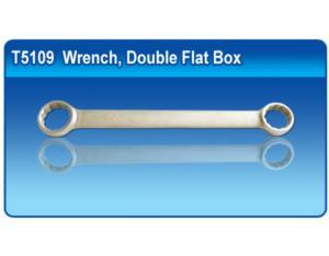 Titanium Wrench, Double Flat Box(DIN 8378)