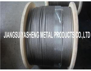 Stainless Steel Aircraft Cable 7X7 7X19