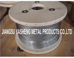 Stainless Steel Wire Rope 7X7,7X19