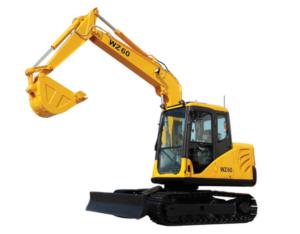 WZ60 mini hydraulic excavator