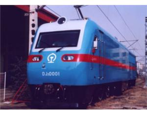 SSJ3 AC Drive Electric Locomotive