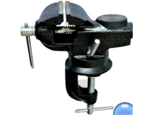 Pipe clamp bench vice