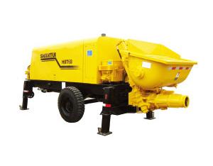 Concrete pump trailers-HBT60