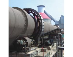 Rotary kiln used in the Cement Industry