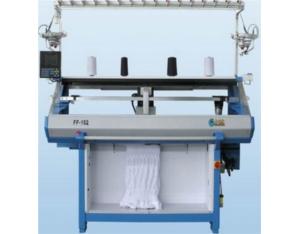 Fully computerized flat knitting machine