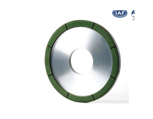 Top hammer processing and grinding wheel
