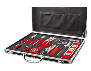 12PC Heavy duty aluminium alloy tool set