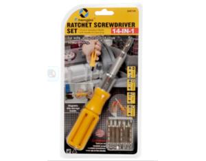 8pcs Ratchet Screwdriver Set