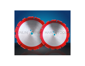 Tungsten carbide gritted cutting blade