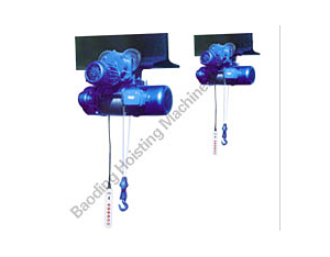 CD1 Series Electric Wire Rope Hoist