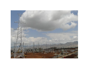 400 kv substation and transmission line