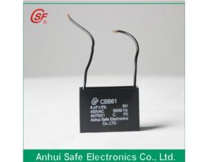 Fan capacitor of ac motor cbb61 made in china