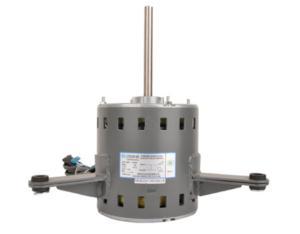 Single-phase capacitor-running motor for pipeline