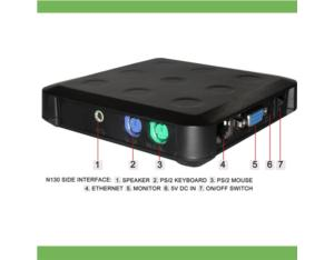 Mini computer PC stations, PC Share, Smart PC, Thin client without USB port N130