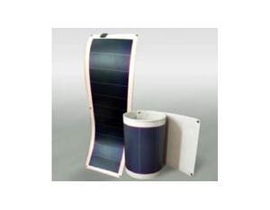 Amorphous silicon flexible solar panels