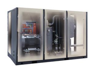 Medium and low pressure screw compressor