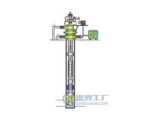 Single screw oil pump unit