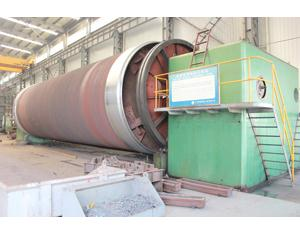 Ball mill cylinder processing lathe