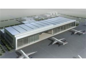 Shanghai pudong international airport Boeing hanga