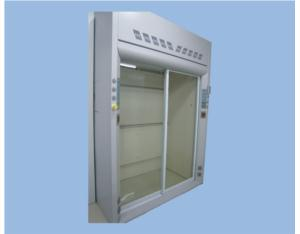 Enter type fume hood