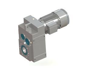 FC series balance shaft helical gear reducer