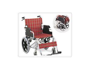 Iron or aluminum wheelchair