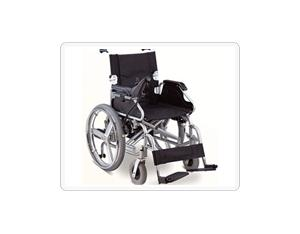 Iron or aluminum electric wheelchair