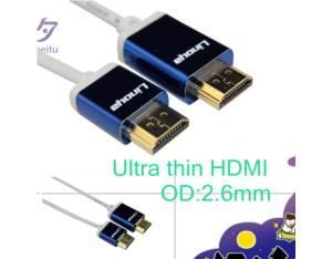 Ultra-thin HDMI cable
