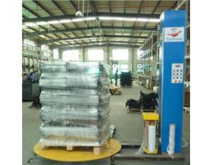 Pre-stretch wrap packing machine