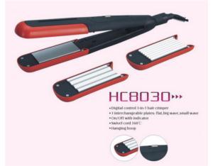 Hair Crimper&Straightener hc8030