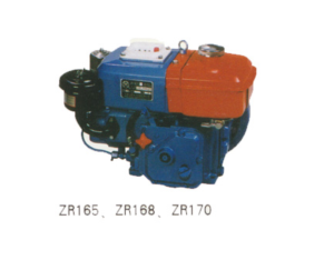 Diesel engine horizontal type water cooled ZR165
