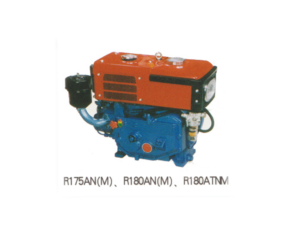 Diesel engine horizontal type water cooled R180AN