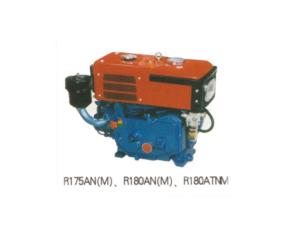 Diesel engine horizontal type water cooled R180ANM