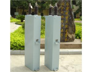 High voltage series capacitor