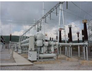 ZF28-252 type SF6 gas insulated switchgear