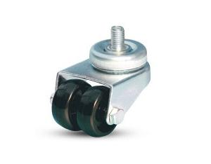 Swivel screw caster