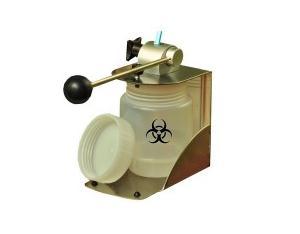 hub cutter, needle hub cutter, syringe hub cutter